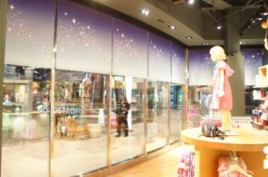 Roller Shades at Disney Store in Santa Monica, CA (day)